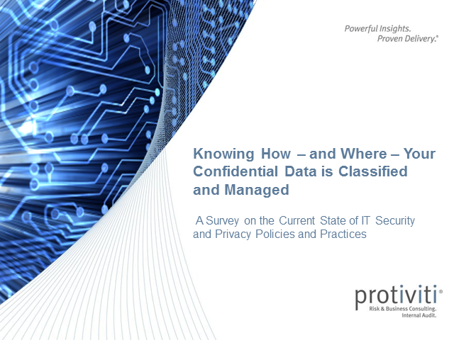 2013 IT Security Survey Results