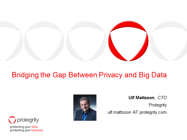 Bridging the Gap Between Privacy and Big Data