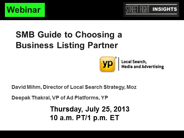 SMB Guide to Choosing a Business Listings Partner