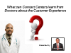 What can Contact Centers learn from  Doctors about the Customer Experience?