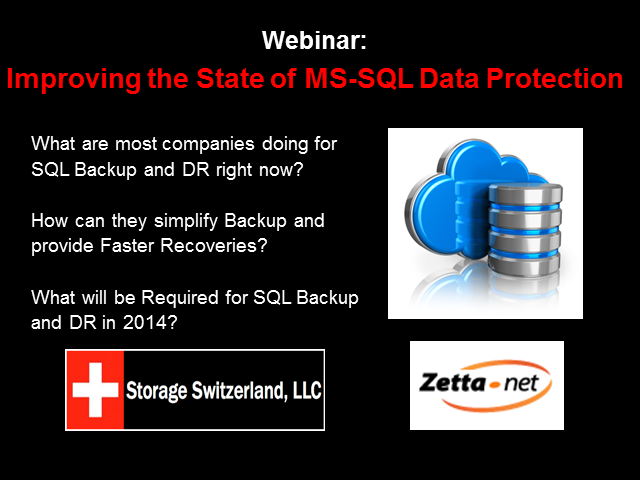 Improving the State of MS-SQL Backup