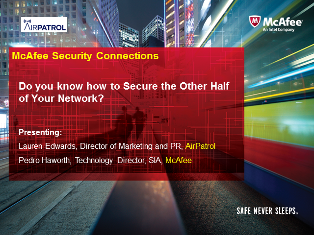 Do you know how to Secure the Other Half of Your Network?