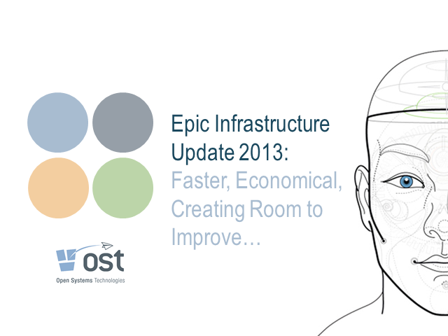 Epic Infrastructure Update 2013: Faster, Economical, Creating Room to Improve…