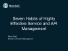 Seven habits of highly effective Service and API Management