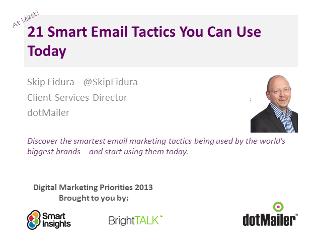 21 Smart Email Tactics You Can Use Today