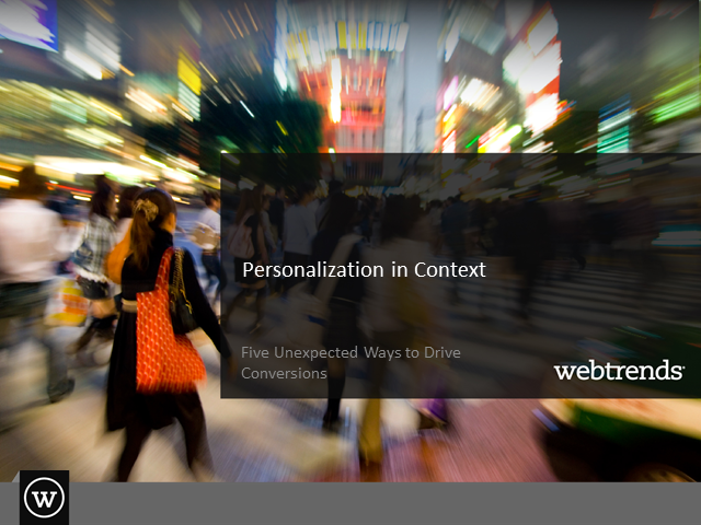 Personalization in Context