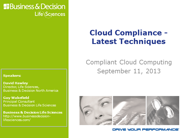 Cloud Compliance - Latest Techniques