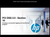 PCI DSS 2.0 - Section 10: Creating a successful logging and monitoring program