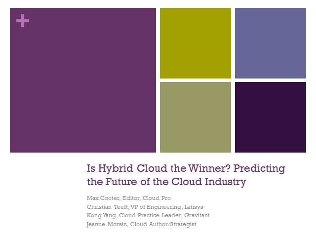 Is Hybrid Cloud the Winner? Predicting the Future of the Cloud Industry