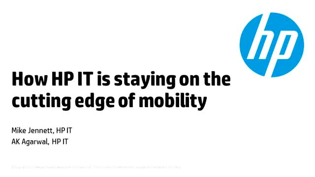 Mobile series: How HP IT is staying on the cutting edge of mobility
