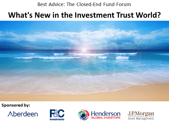 What's New in the Investment Trust World?