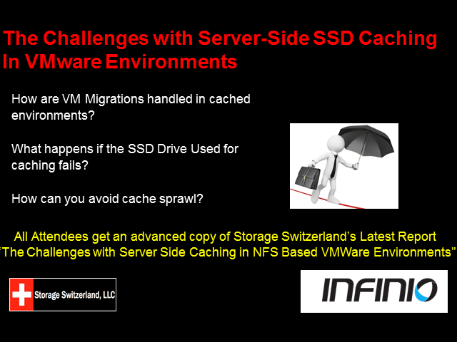 The Challenges With Server-Side SSD Caching in VMware Environments