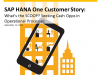 Customer Story: What's the SCOOP? Seeking Cash Opps in Operational Processes