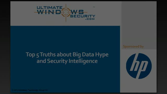 Top 5 Truths about Big Data Hype and Security Intelligence