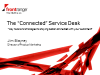"The ""Connected"" Service Desk"