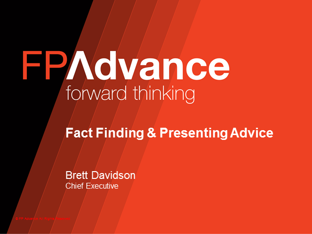 Fact Finding & Presenting Advice