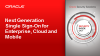 Security: Next Generation Single Sign On for  Enterprise, Cloud and Mobile