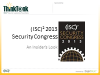 (ISC)2 Security Congress 2013 - Sneak Preview
