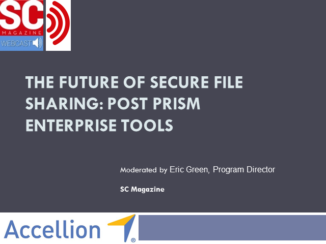The Future of Secure File Sharing: Post PRISM Enterprise Tools