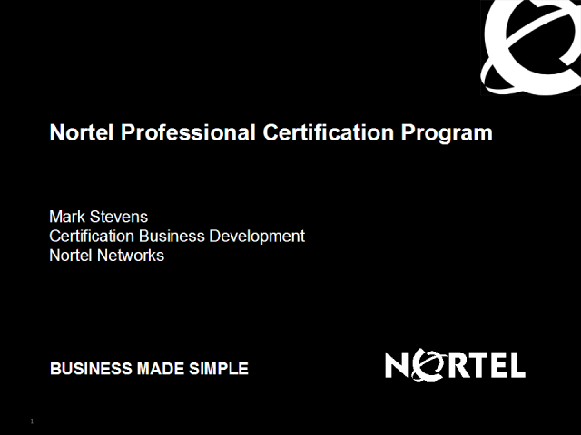 Nortel Professional Certification