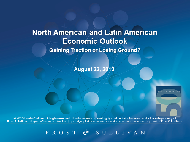 North American and Latin American Regional Economic Outlook