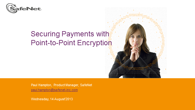 Securing payments with Point-to-Point Encryption