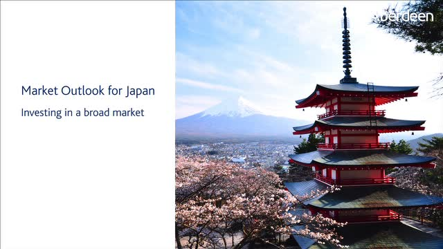 Market Outlook for Japan