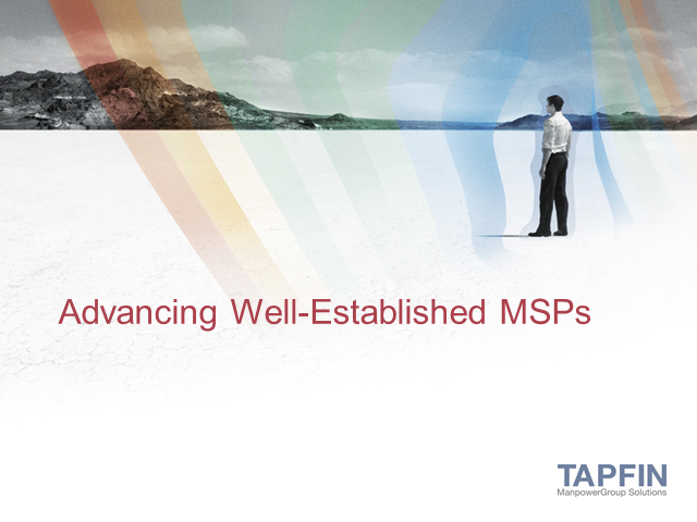Advancing Well-Established MSPs