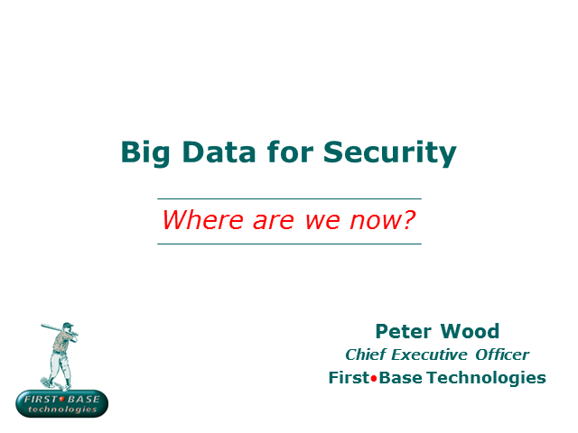 Big Data for Security: Where Are We Now?