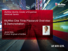 McAfee Identity Center of Expertise - One Time Password Overview & Demonstration