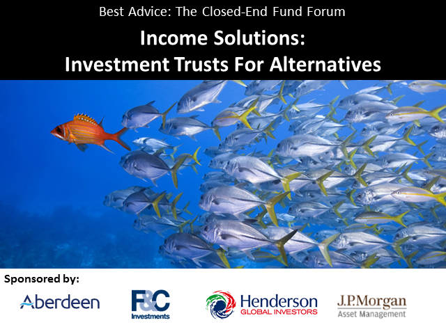 Income Solutions: Investment Trusts For Alternatives