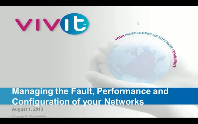 Managing the Fault, Performance and Configuration of your Networks