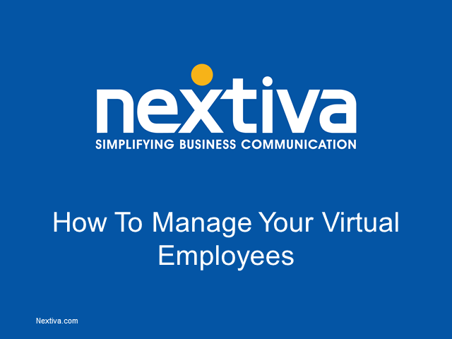 How to Build & Manage a Virtual Workforce