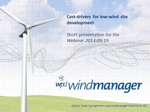 Low-Wind Sites:The Crucial Conundrum For Onshore Wind Developers