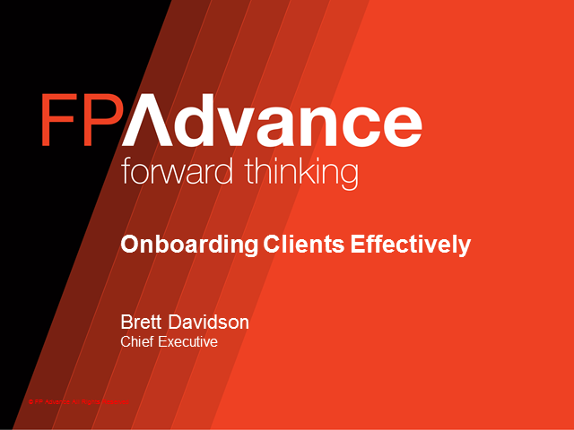 Onboarding Clients Effectively