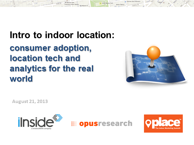Introduction to Indoor Location