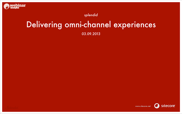 Creating omni-channel brand experiences