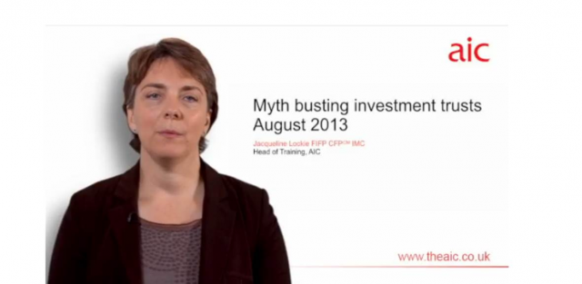 Myth busting investment trusts