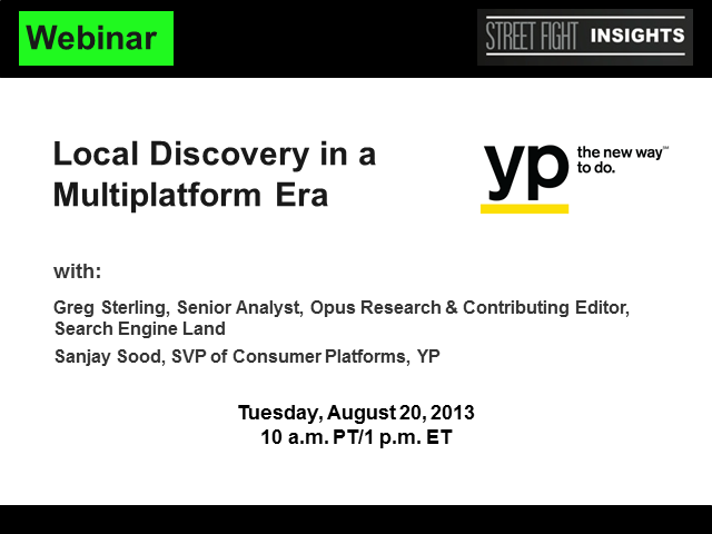Local Discovery in the Multiplatform Era