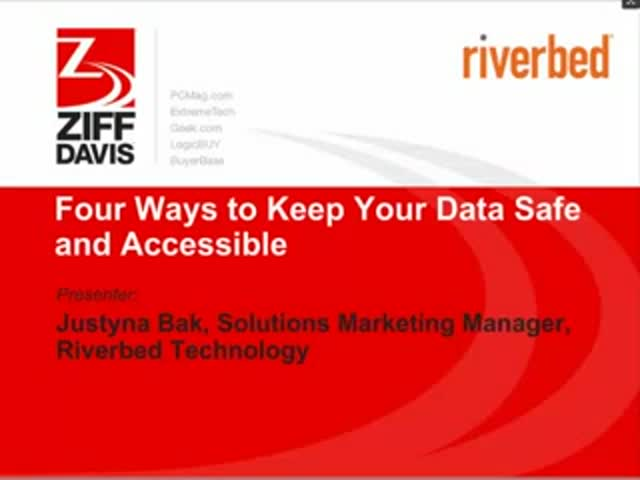 Four Ways to Keep Your Data Safe and Accessible