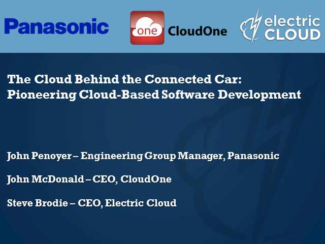 The Cloud Behind the Connected Car: Pioneering Cloud-Based Software Development