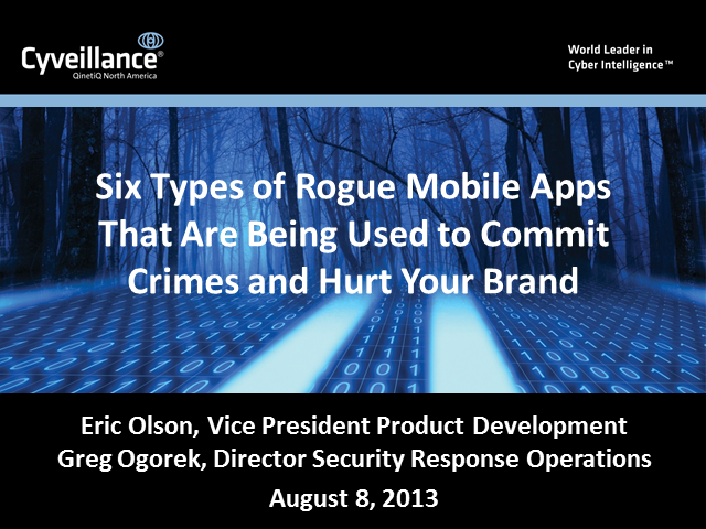 Six Types of Rogue Mobile Apps and How They're Hurting Your Brand
