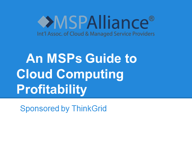 An MSPs Guide to Cloud Computing Profitability