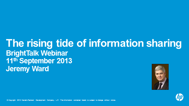 The Rising Tide of Information Sharing