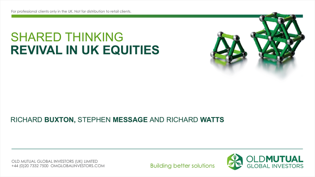 Revival In UK Equities