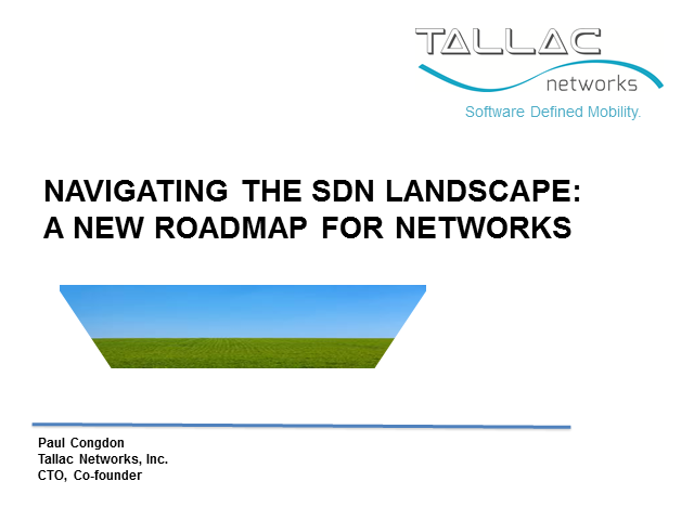 Navigating the SDN Landscape: A New Roadmap for Networks