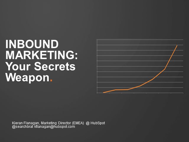 Inbound Marketing - Your Secret Weapon