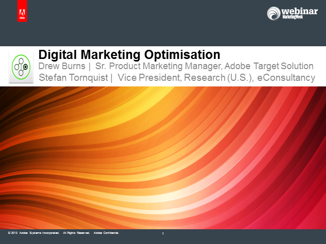 Digital Marketing Optimisation