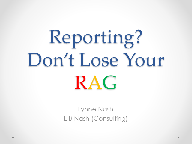 Reporting? Don't Lose Your RAG