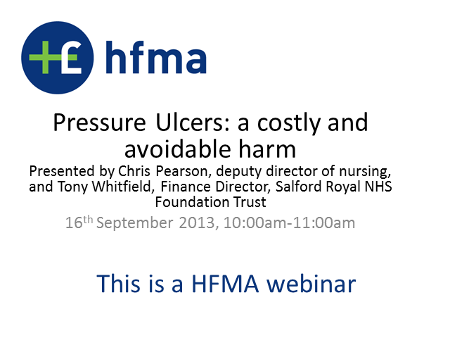 Pressure Ulcers: a costly and avoidable harm